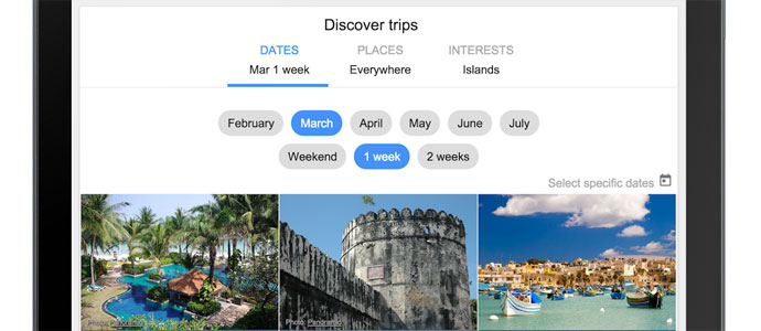 Google Flights now pushes flexible destination search aiming at trip inspiration