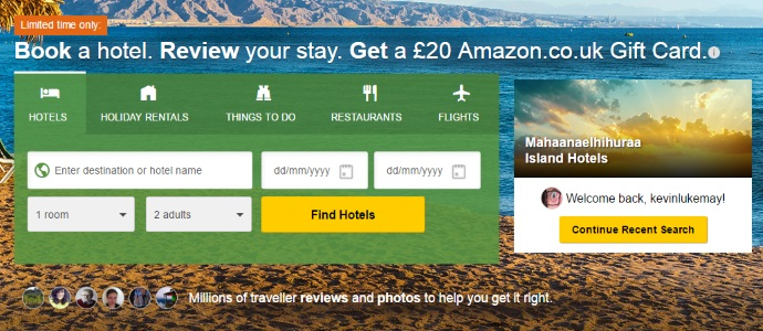 TripAdvisor redesign puts activities front and centre alongside hotels