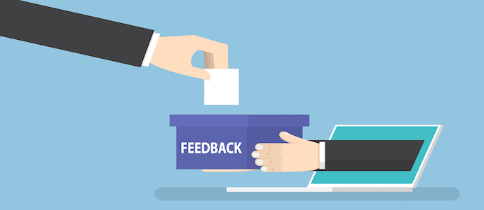 In online reviews who responds and length of response are important