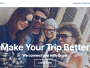 STARTUP STAGE: MakeYourTripBetter is a collaborative platform connecting travelers with locals