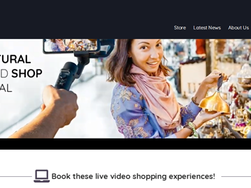 STARTUP STAGE: Local Purse offers live video shopping for travelers