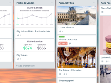 Skyscanner Trello integration