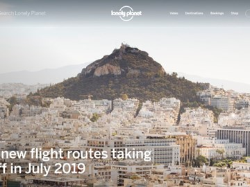 Lonely Planet continues latest digital rebirth with new design