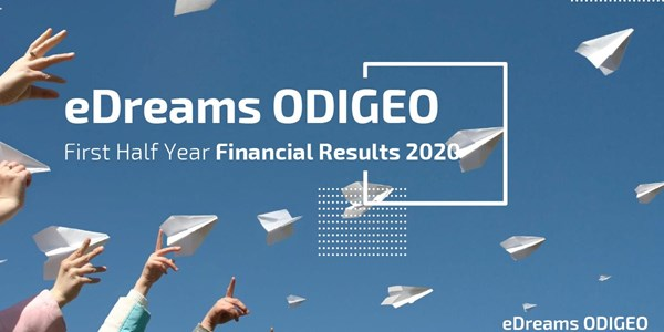 eDreams ODIGEO earnings 1H 2020