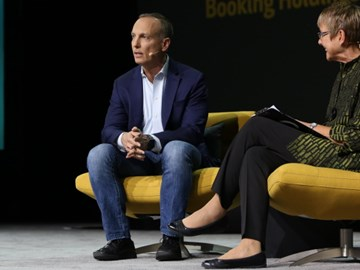 VIDEO: Booking Holdings' Glenn Fogel on platforms, search and check-in issues