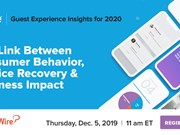 WEBINAR REPLAY! Guest Experience in 2020: Behavior, service recovery and business impact