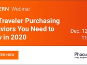 WEBINAR ALERT! The traveler purchasing behaviors you need to know in 2020