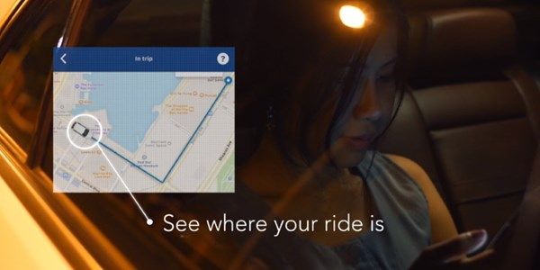 Booking.com app integrates ride-hailing services via Grab