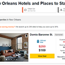 tripadvisor sponsored placements direct booking