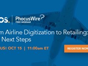 WEBINAR ALERT! From airline digitization to retailing: The next steps