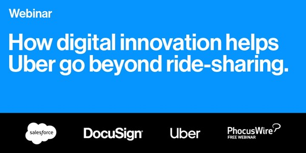 WEBINAR REPLAY! How digital innovation helps Uber go beyond ride-sharing in difficult times