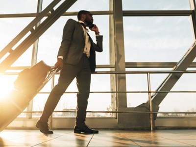 Corporate travelers eye possibility of trips but need a green light from companies