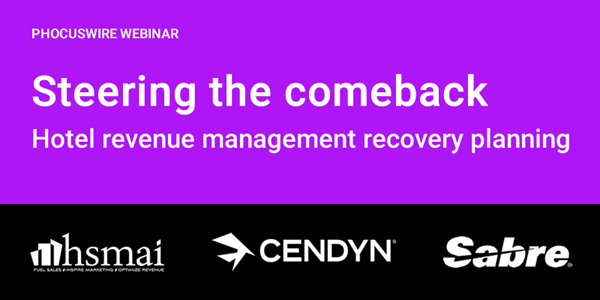 WEBINAR REPLAY! Steering the comeback: Hotel revenue management recovery planning