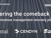 WEBINAR ALERT! Steering the comeback: Hotel revenue management recovery planning