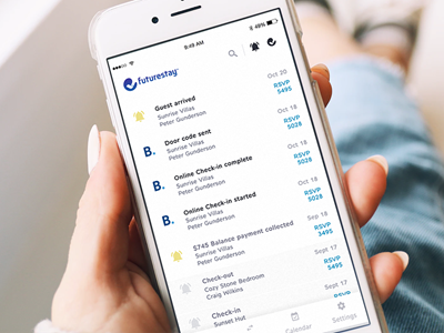 Booking.com taps Futurestay to launch online check-in for rentals