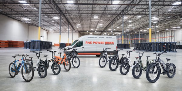 Rad Power Bikes raises $150M to grow e-bike business
