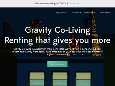 Co-living startup Gravity raises $1.4M to expand internationally