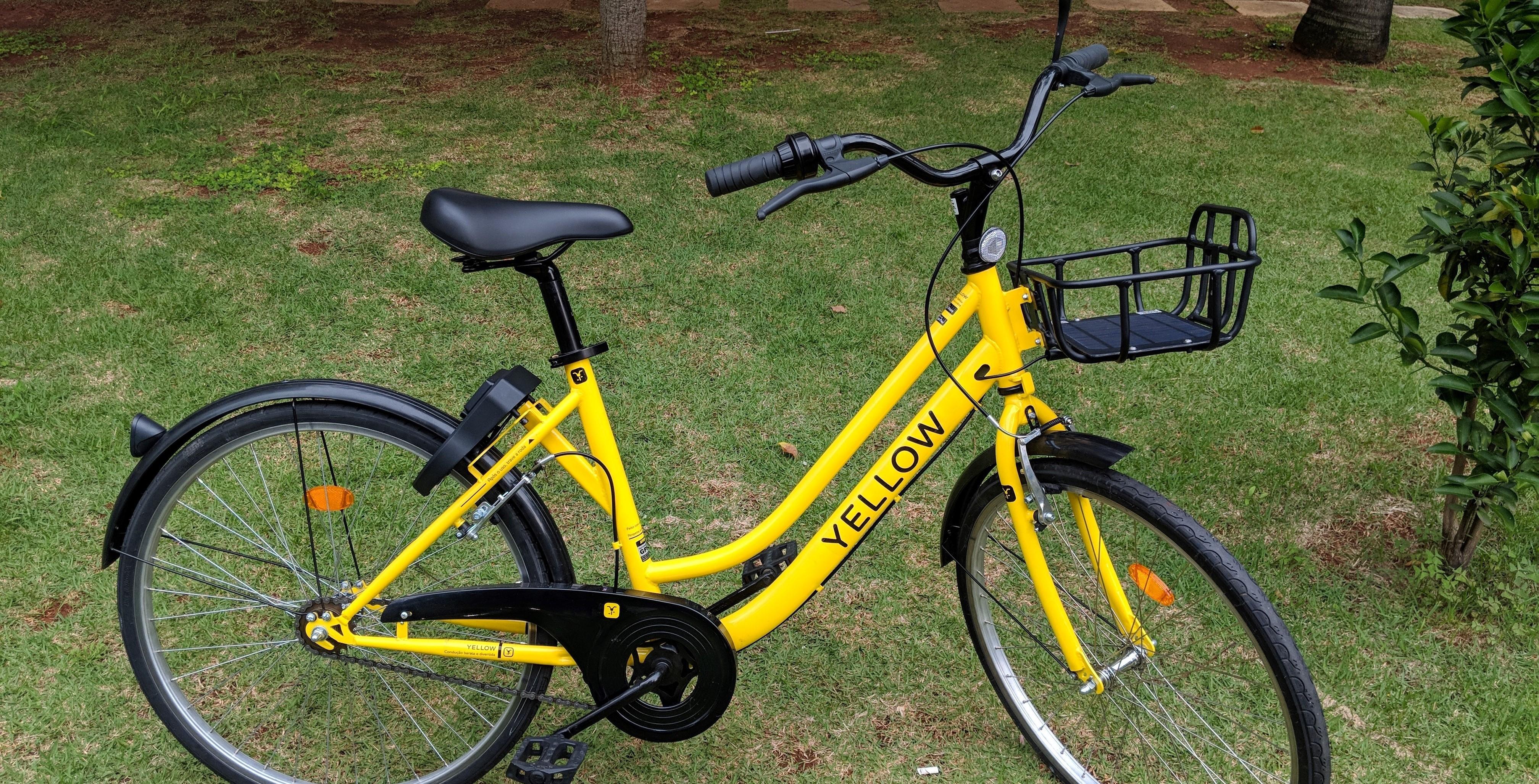 Resultado de imagem para yellow bike sharing