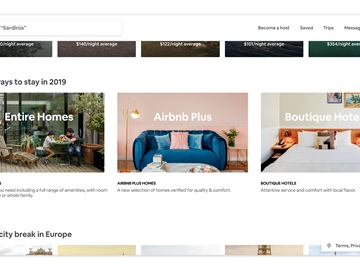 Airbnb boosts hotel visibility with homepage refresh, new filter