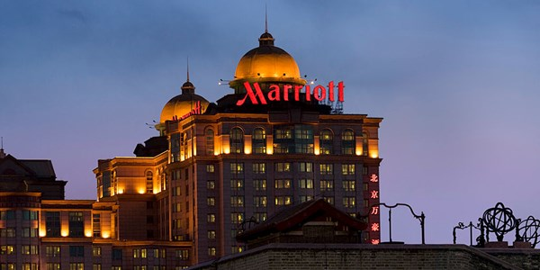 Marriott forced to close websites in China