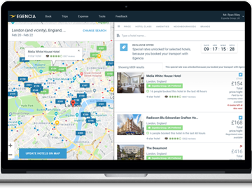 Egencia adds hotel chat, package booking features to business travel platform