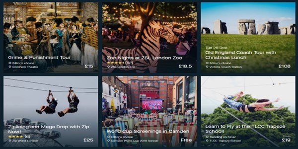 Fever experience platform raises $20M, sees blend between tourist and local