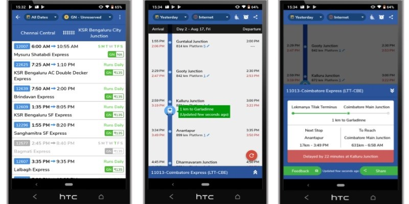 Google acquires up Indian rail app Where Is My Train?