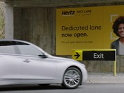 Hertz Clear biometric partnership