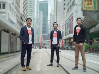 Klook founders (L-R): Bernie Xiong, Ethan Lin, Eric Knock Fah