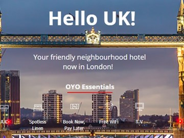 Can OYO capture the unbranded hotel market in the U.S. and Europe?