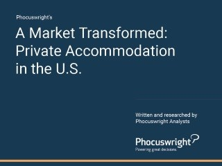 Phocuswright research - Private Accommodation in the U.S.