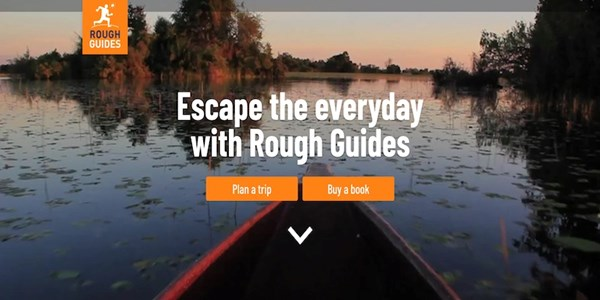 rough guides travel booking