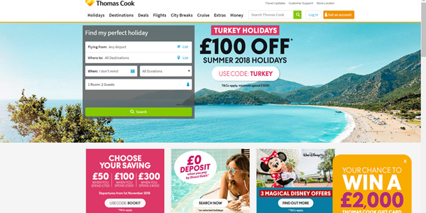 Thomas Cook Qubit digital personalization