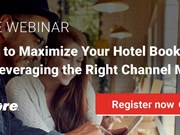 WEBINAR ALERT! How to maximize hotel bookings by leveraging the right channel mix
