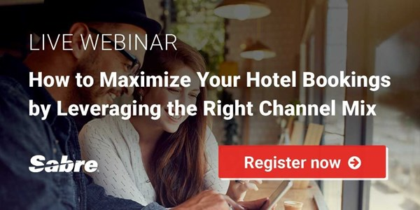 WEBINAR REPLAY! How to maximize hotel bookings by leveraging the right channel mix