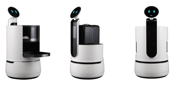 LG's new robots designed to replace hotel staff