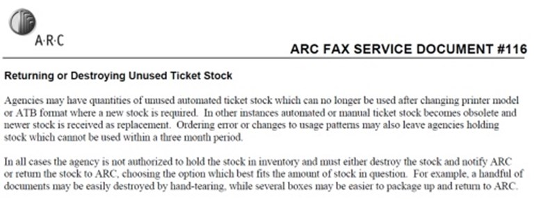 With no shred of doubt, this ticket stock will self-destruct
