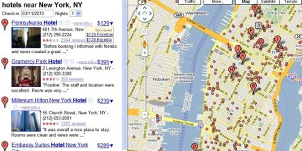 Google Maps adds hotel search and pricing, panic and confusion ...