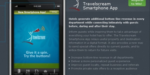Travelscream to release iPhone app for hotel ancillary