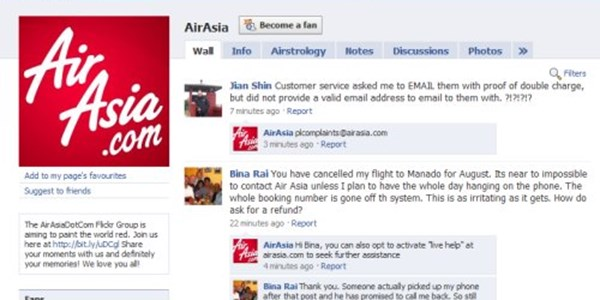 Air Asia claims social media victory, admits huge resources needed to manage