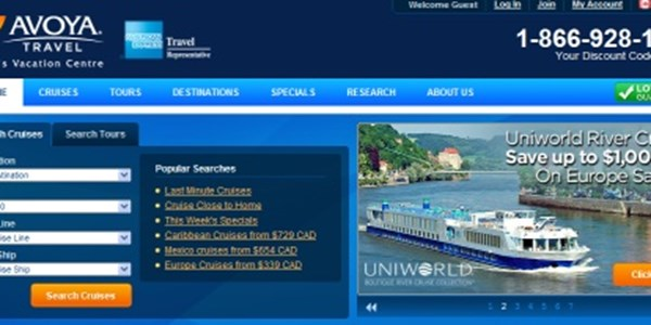 Travel Agency Website >> Us Travel Agency Pushes Into Canada With Avoya Travel Website