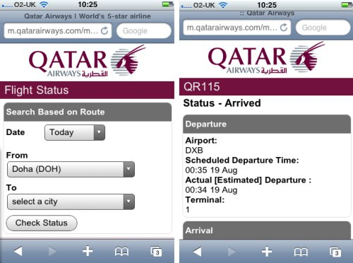 qatar airways check in