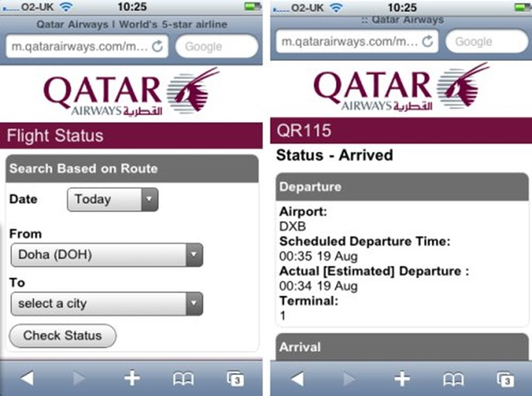 Qatar Airways says browser wins over apps for mobile services