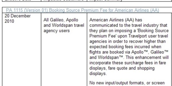 Travelport Poised To Bias American Airlines Flights As