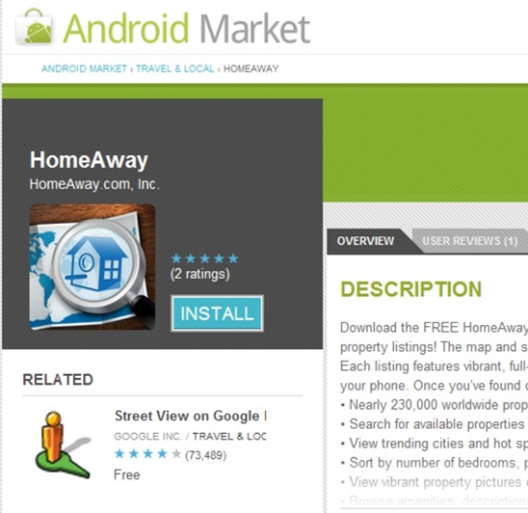 Expedia company gives HomeAway an Android app assist