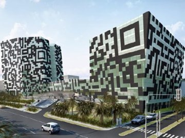 Behold the QR code hotel