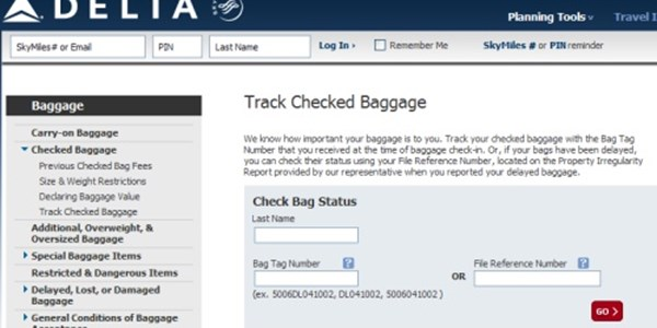 Checked Bags Redefined Delta Enables Travelers To Check Location Of Lost