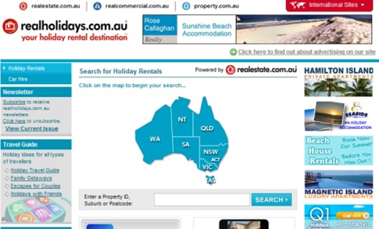 HomeAway bolsters Australia presence with realholidays