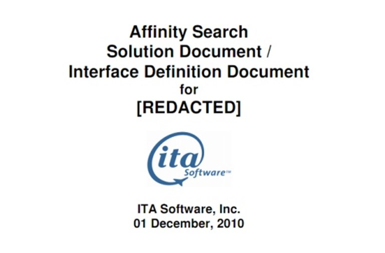 ITA Software readies InstaSearch for mystery customer