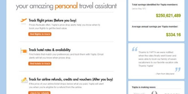 TripIt Pro to get Yapta fare tracking with $5 million Concur